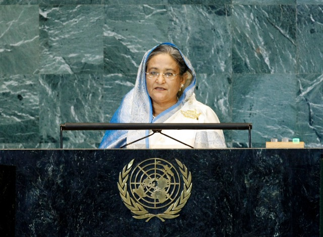 Address by Her Excellency, the Honorable Sheikh Hasina, Prime Minister of Bangladesh