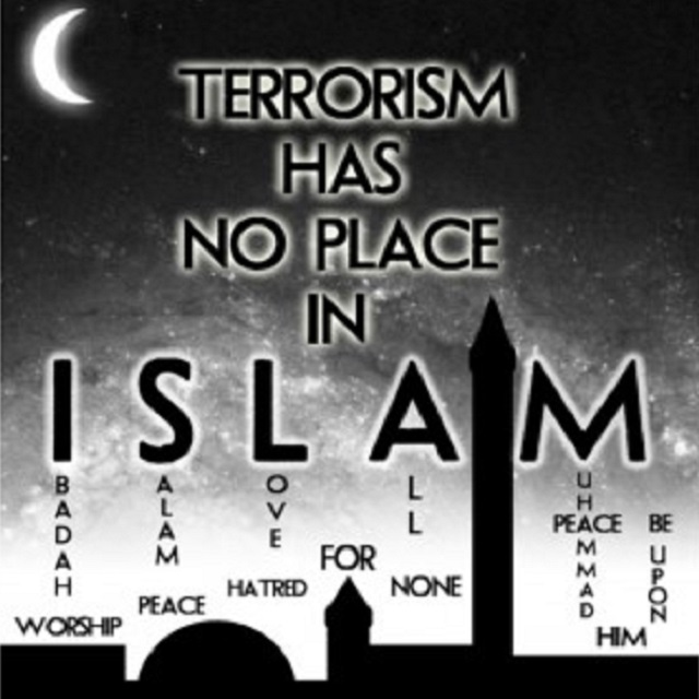 'TERRORISM HAS NO PLACE IN ISLAM'   BANGLADESH – Audacity ... No Terrorism