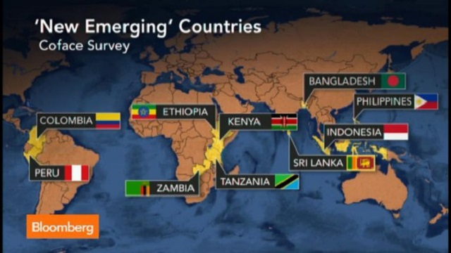 Bangladesh among emerging countries bangladesh for Compagnie francaise d assurance pour le commerce exterieur