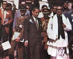 BANGABANDHU IN LAHORE 1974