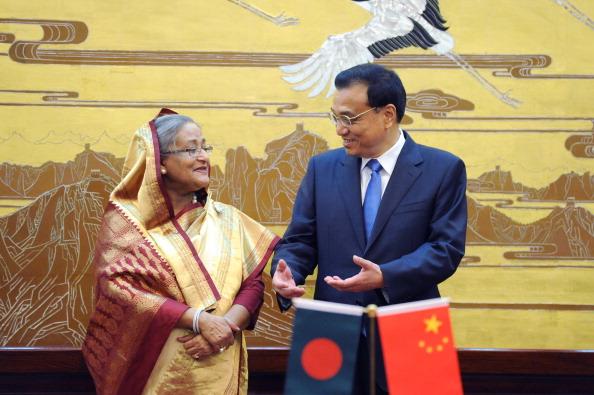 Bangladesh PM Visits China
