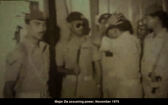 MAJ ZIA 1975 FREED