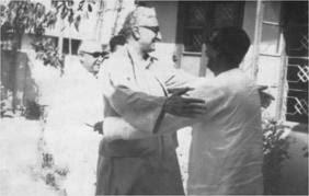 wali khan with sheikh mujib
