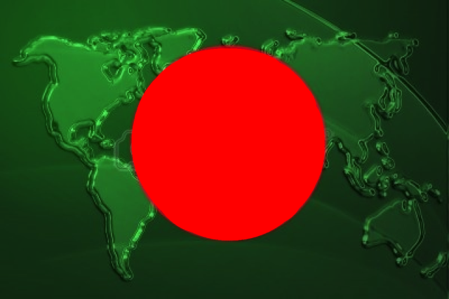 4620484-flag-of-bangladesh-national-country-symbol-illustration-with-world-map-metallic-embossed-look