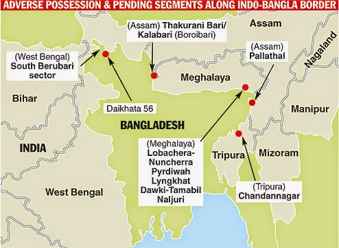 Indo-Bangla Boundary Land Dispute