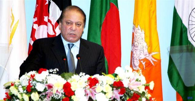 Pakistan-PM-Nawaz-Sharif-at-18th-SAARC-Summit-Kathmandu
