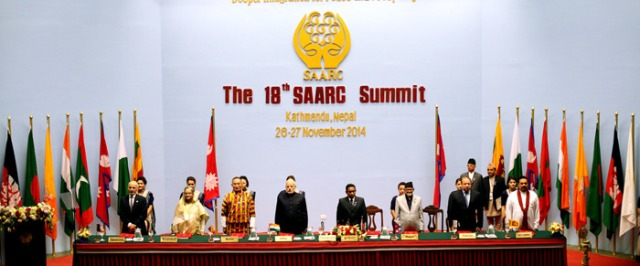 18th SAARC Summit Kicks Off