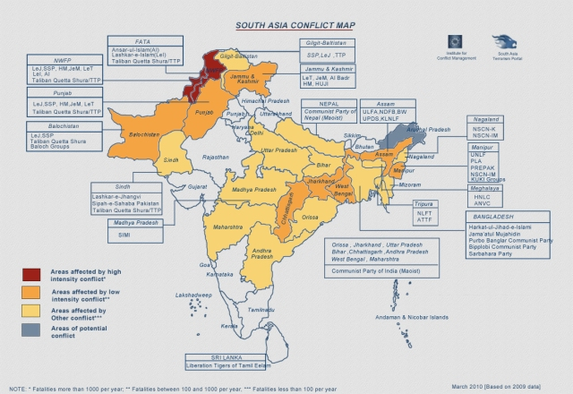 South-Asia-Conflict-Map