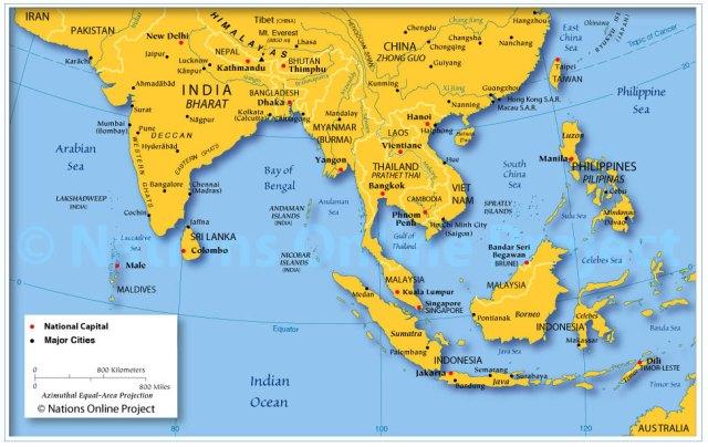 SouthEastAsiaMap