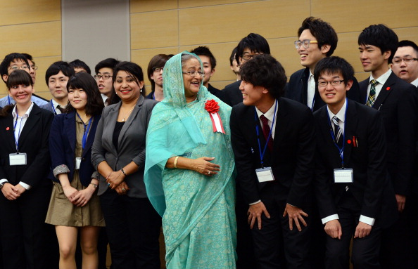 JAPAN-BANGLADESH-DIPLOMACY