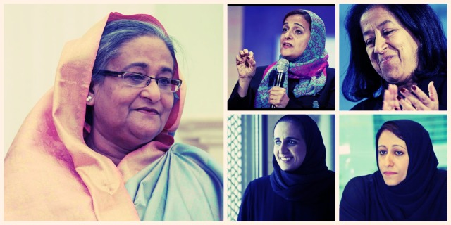 Five-Muslim-women-among-Forbes'-list-of-100-most-powerful-women