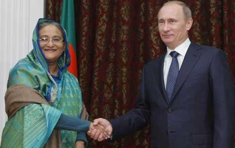 relationship between bangladesh and russia