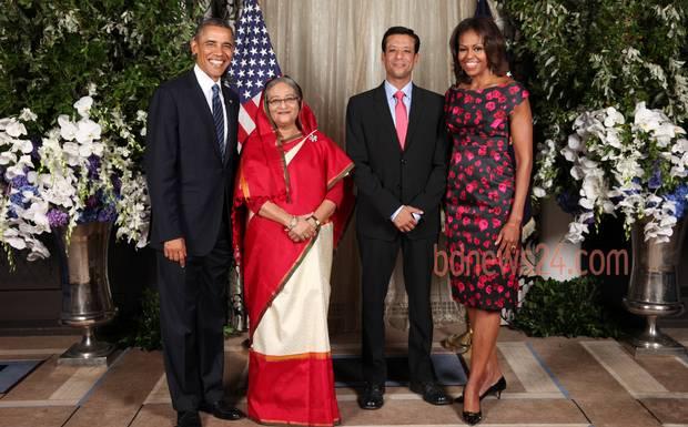 Hasina-Obama