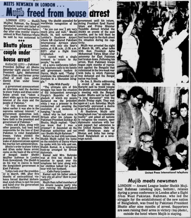 mujib-freed-from-house-arrest-rome-news-tribune-jan-9-1972