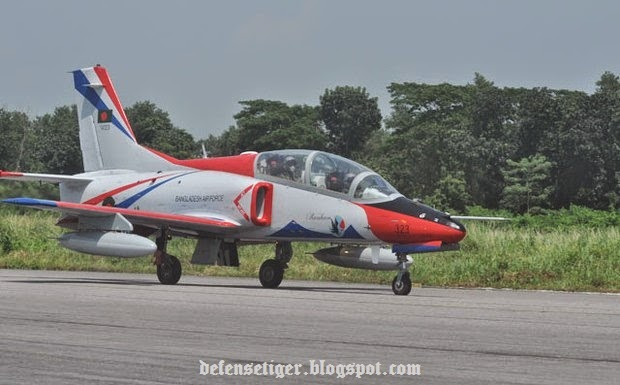Bangladesh Air Force has inducted to its fleet four K-8W fighter trainer aircrafts bought from China...
