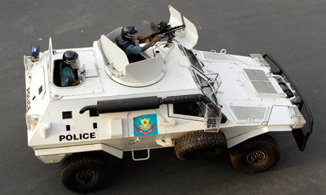 Cobra vehicles operated by DMP