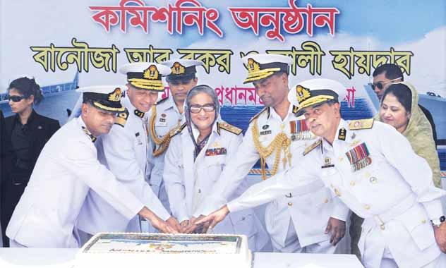 Shekh-Hasina-Navy