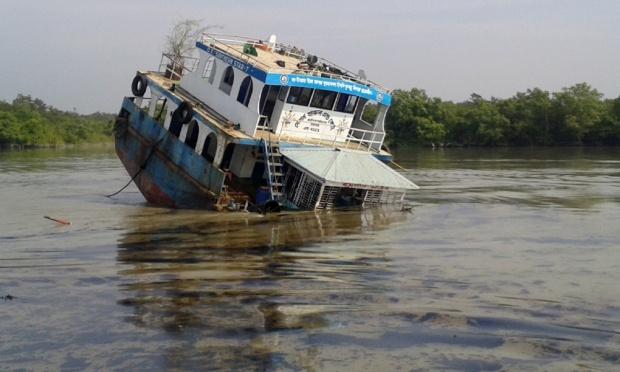 Shela River in the Sunderbans