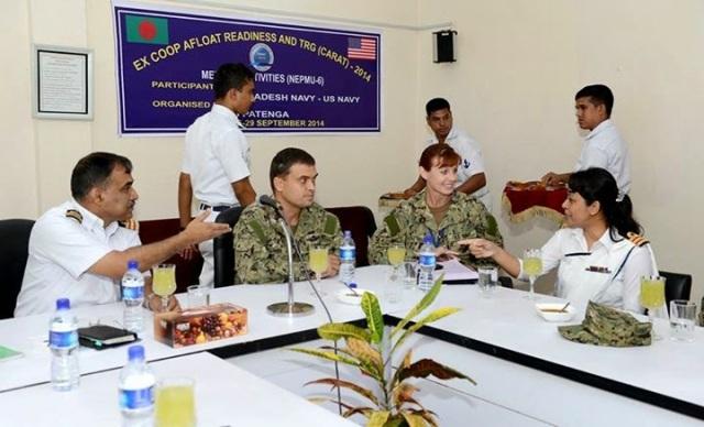 US-Bangladesh joint naval exercise begins at Bay of Bengal 1