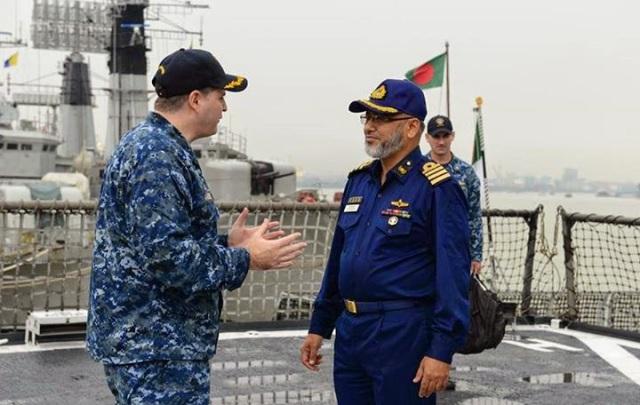 US-Bangladesh joint naval exercise begins at Bay of Bengal 2