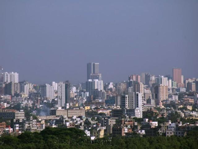 Dhaka-skyline-motijheel