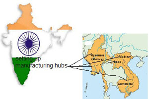 India sets its foot firm on ground to turn 'Look East' policy a reality_0