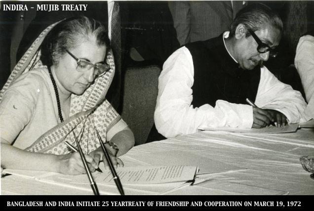INDIRA - MUJIB TREATY