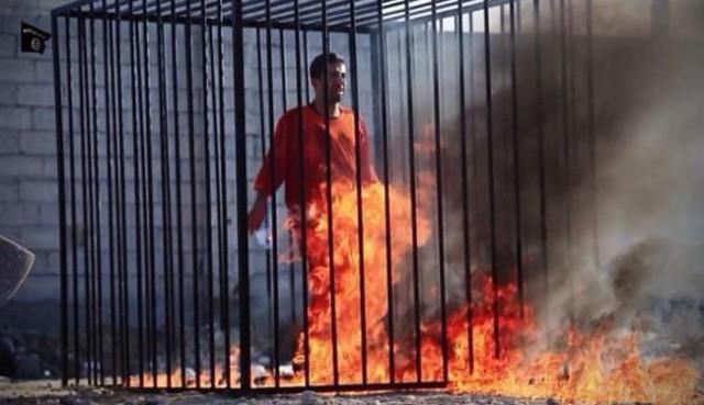 "See Video: ISIS burns alive Jordanian pilot ""al-Kasasbeh"""