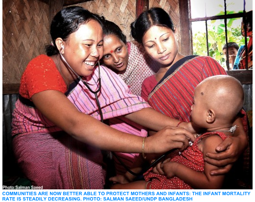 Millennium Development Goal 4   UNDP in Bangladesh