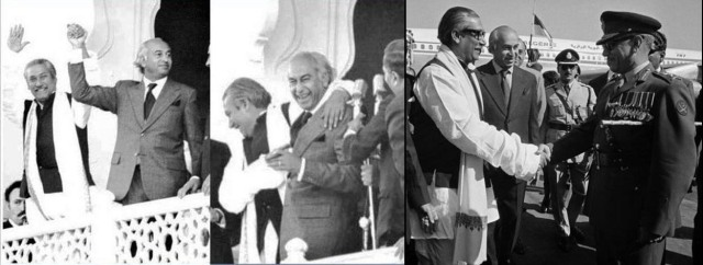 Bangabandhu and Bhutto 2