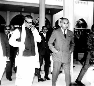Bangabandhu and Bhutto March 1971