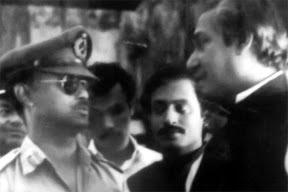 Bangabandhu with Major Zia