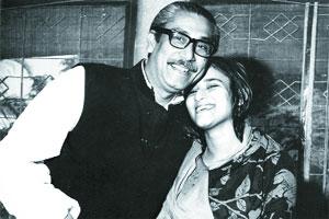 BANGABANDHU WITH SHEIKH HASINA