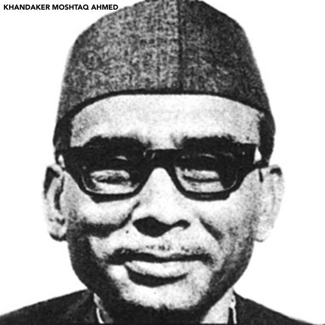 Khondaker Mostaq Ahmad portrait