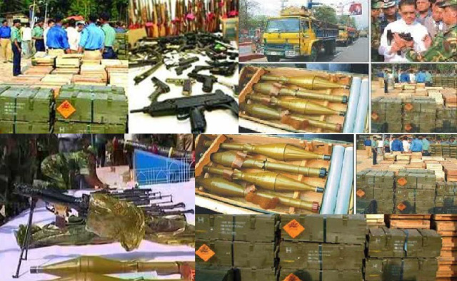 10 TRUCK ARMS HAUL CHITTAGONG