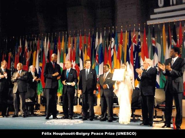 Félix Houphouët-Boigny Peace Prize (UNESCO).