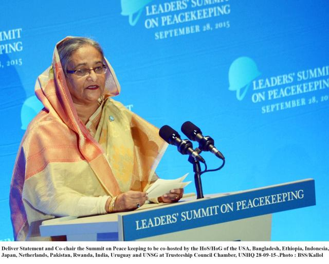 HASINA, OBAMA CO-CHAIR PEACEKEEPING SUMMIT AT UN  2