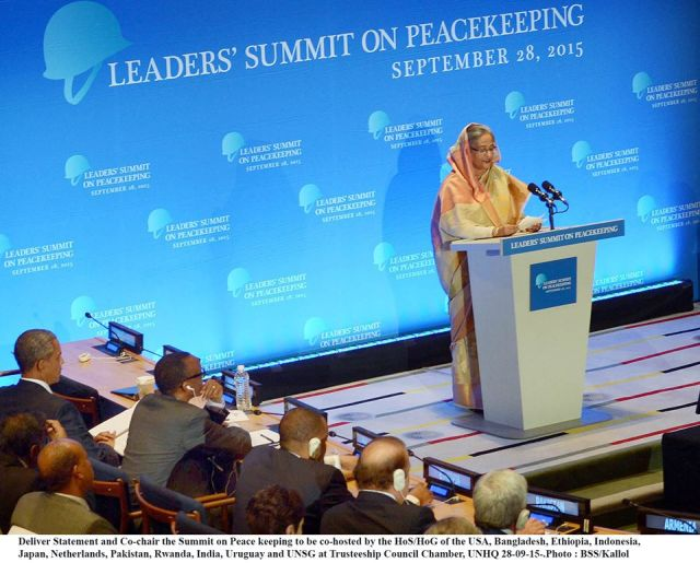 HASINA, OBAMA CO-CHAIR PEACEKEEPING SUMMIT AT UN  3
