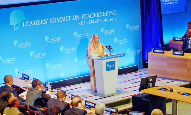HASINA, OBAMA CO-CHAIR PEACEKEEPING SUMMIT AT UN