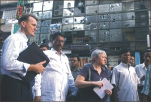 Two Interpol experts arrived in Dhaka yesterday to assess the August 21 carnage