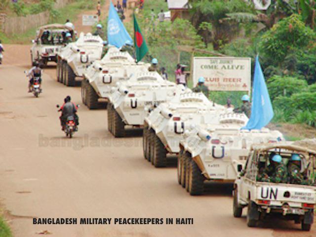 bangladesh military peacekeepers in Haiti