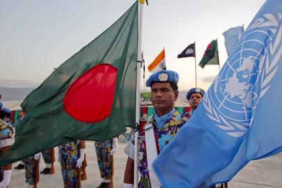 BANGLADESH PEACEKEEPERS UN