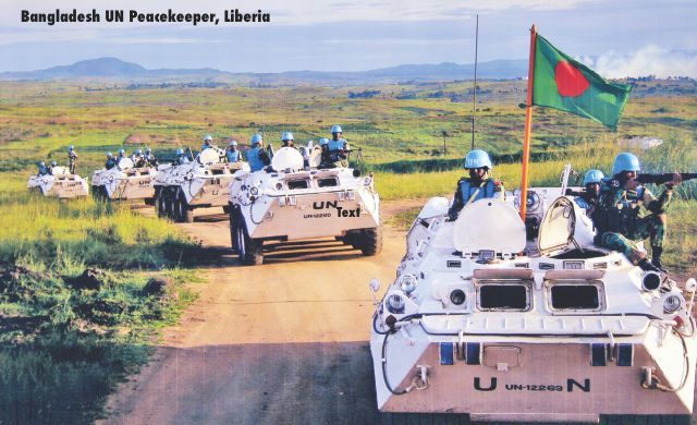 BANGLADESH TROOPS PEACEKEEPING