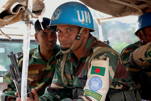 Bangladesh UN Peacekeeper, Liberia
