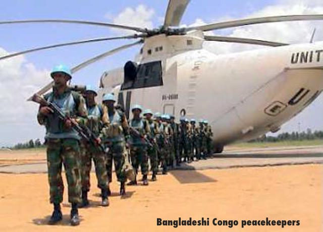 Bangladesh UN PeacekeepeRS