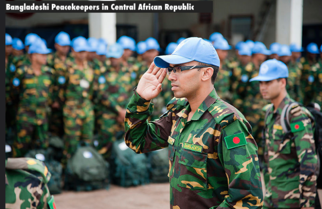 Bangladeshi Peacekeepers in Central African Republic |