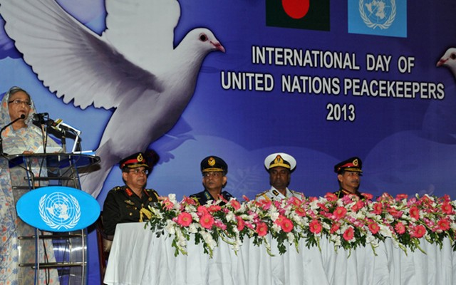 Prime Minister Sheikh Hasina announces Bangladesh will take part in the UN peacekeeping mission in Mali