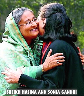 Sheikh Hasina and Sonia Gandhi