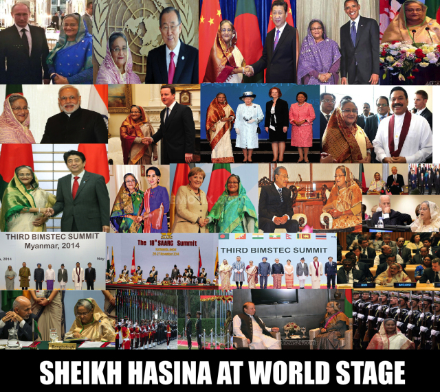 SHEIKH HASINA AT THE WORLD STAGE 2014