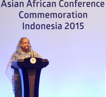 SHEIKH HASINA IN ASIAN AFRICAN SUMMIT